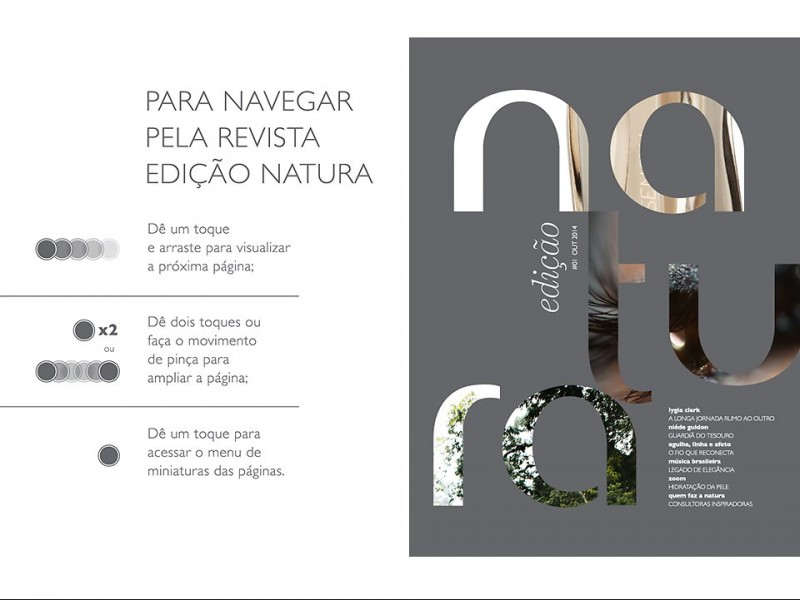 Natura lan�a revista para refor�ar experi�ncia de marca