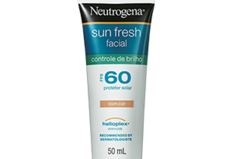 Neutrogena lança protetor de uso diário com controle de brilho e oleosidade do rosto