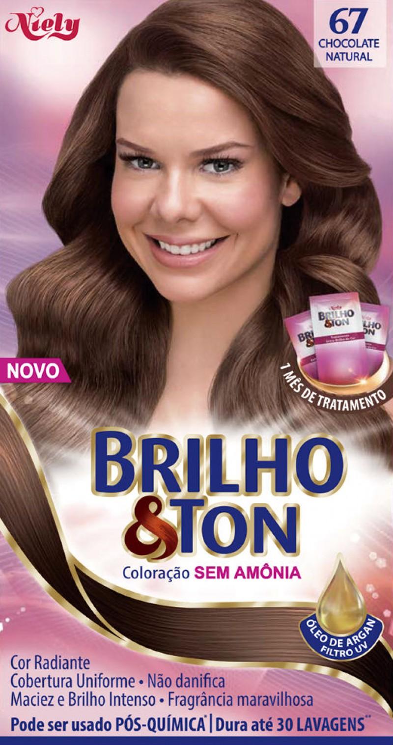 Niely estreia no mercado de colora��o sem am�nia com Brilho&Ton