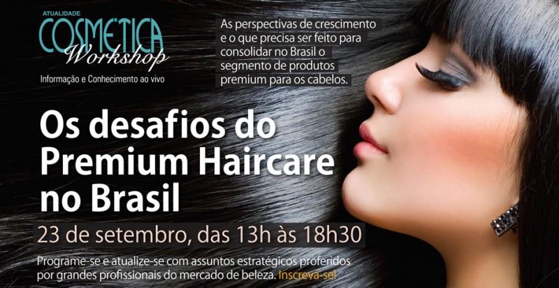 No dia 23 de setembro, a Cusman ir� apresentar uma vis�o 360� do mercado de Premium Haircare