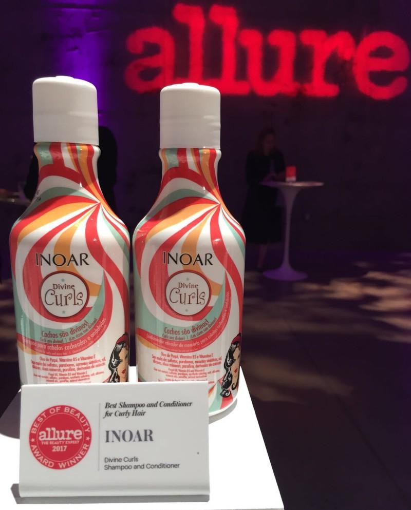 Nos Estados Unidos, Inoar recebe prêmio Best of Beauty da revista Allure