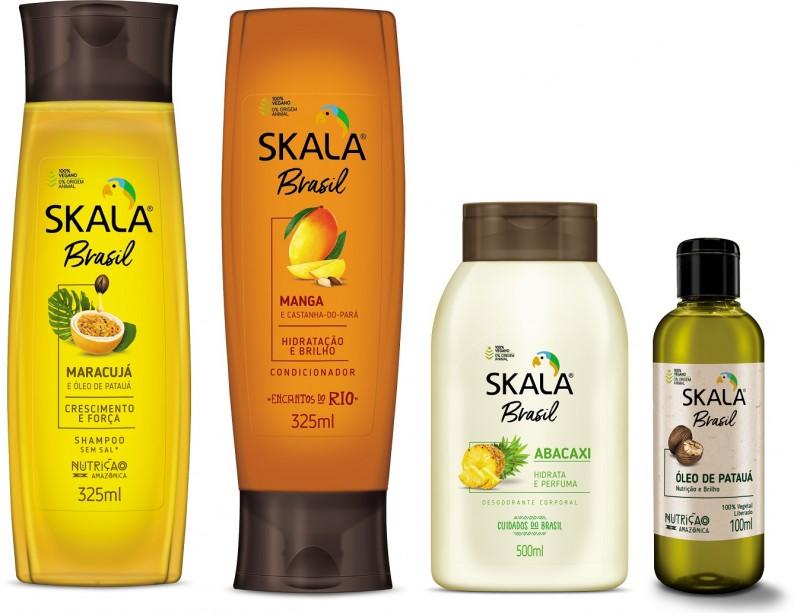 Nova marca Skala Brasil chega ao mercado com linha completa para cabelos
