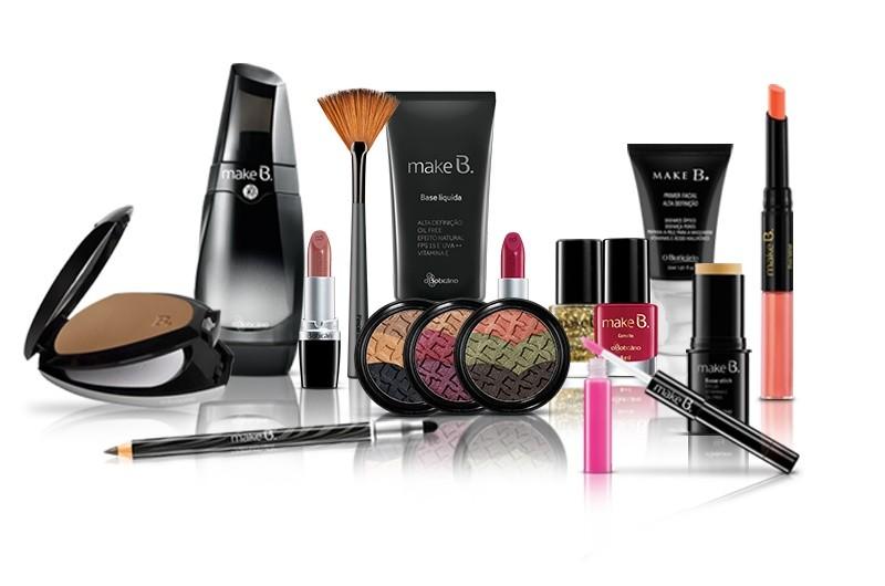 O Boticário troca embalagens vazias por itens de maquiagem