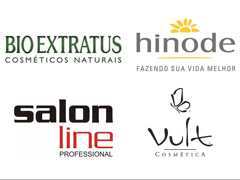 Os finalistas da categoria Empresa do Ano do Prêmio Atualidade Cosmética/Patrus