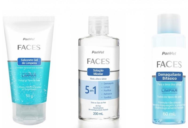 Panvel adiciona três novos produtos à linha Faces