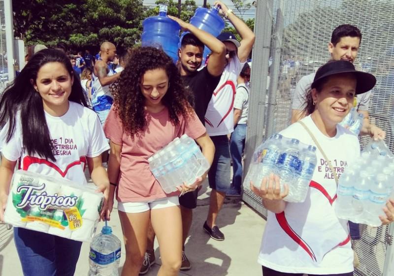 Patrus Transportes, Natura e parceiros reúnem e transportam doações para Brumadinho