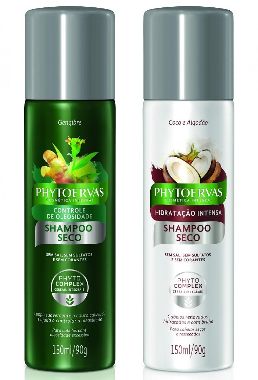 Phytoervas entra no universo dos shampoos secos
