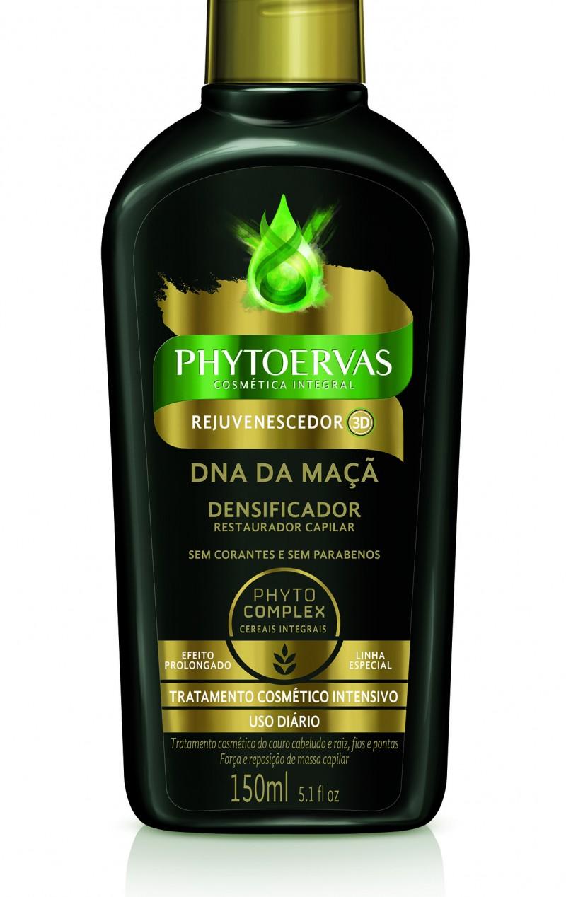 Phytoervas lan�a linha Rejuvenescedor 3D de tratamento cosm�tico intensivo para os cabelos