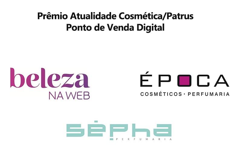 Ponto de Venda Digital é a nova categoria do Prêmio Atualidade Cosmética/Patrus. Saiba mais sobre os finalistas
