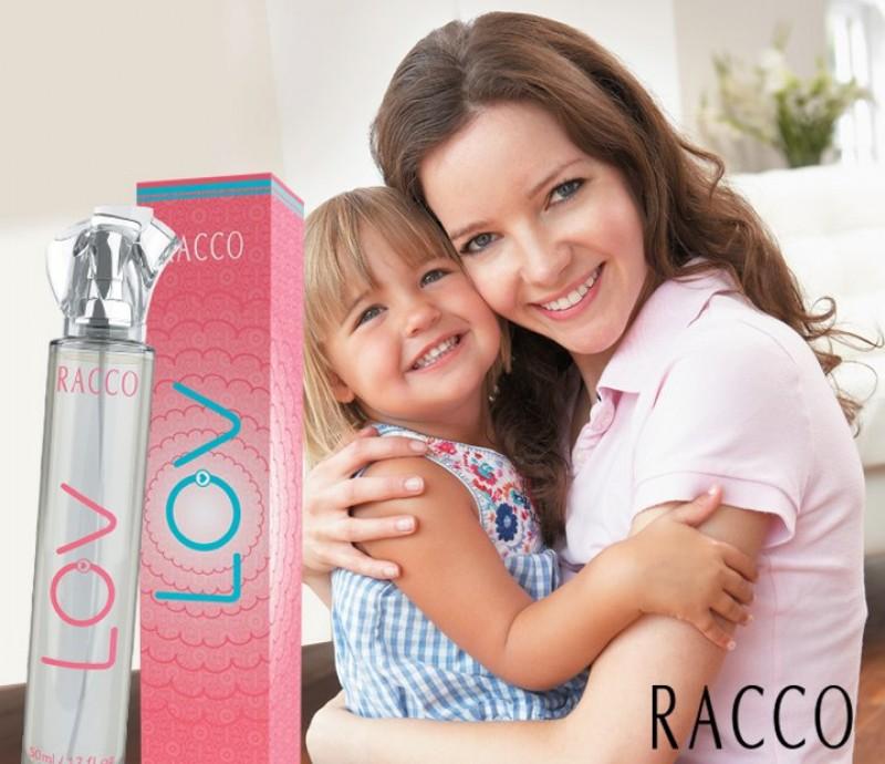 Por dia das mães, Racco lança perfume Lov