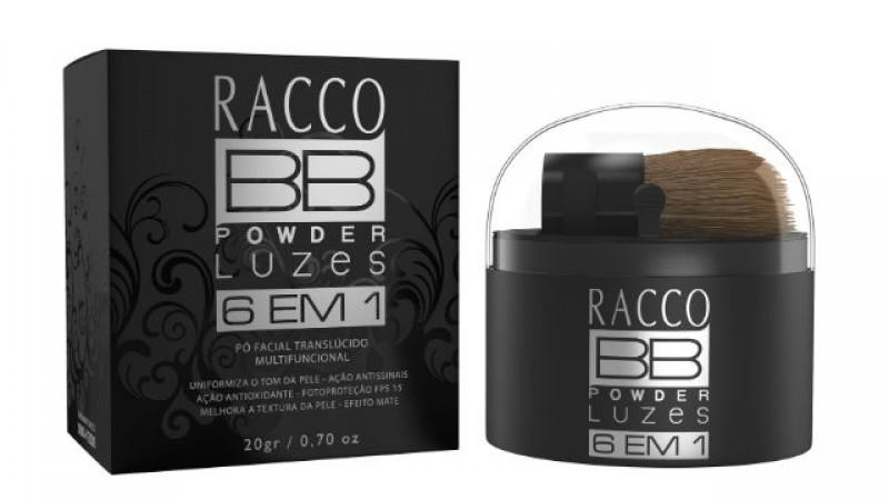 Racco lan�a produto que trata a pele enquanto maquia