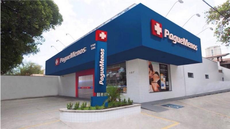 Rede de farmácias Pague Menos totaliza 977 unidades e já projeta mais 188 até fim do ano