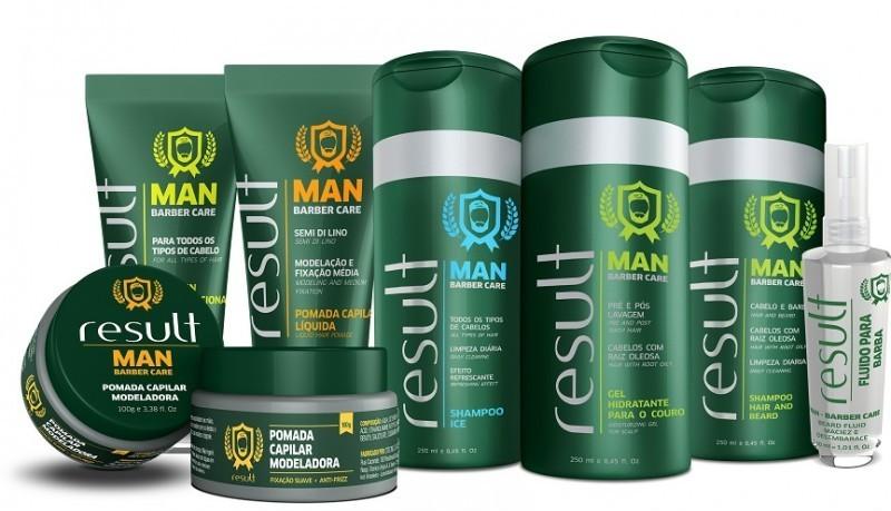 Result Cosmetics lança linha masculina