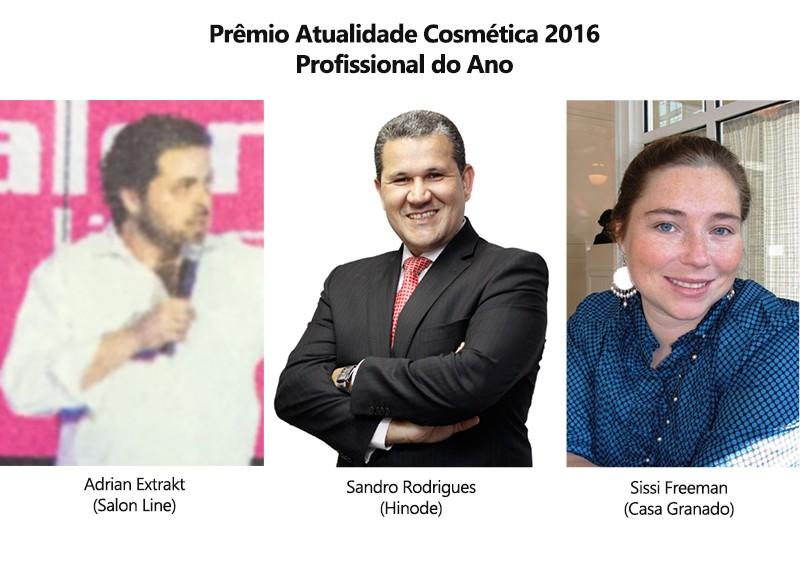Saiba mais sobre os nomes que estão concorrendo ao Prêmio Atualidade Cosmética/Patrus de Profissional do Ano