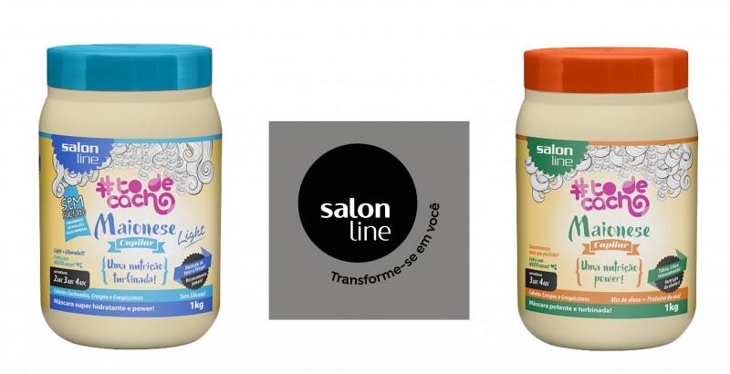 Salon Line apresenta novos tamanhos para Maioneses Capilares