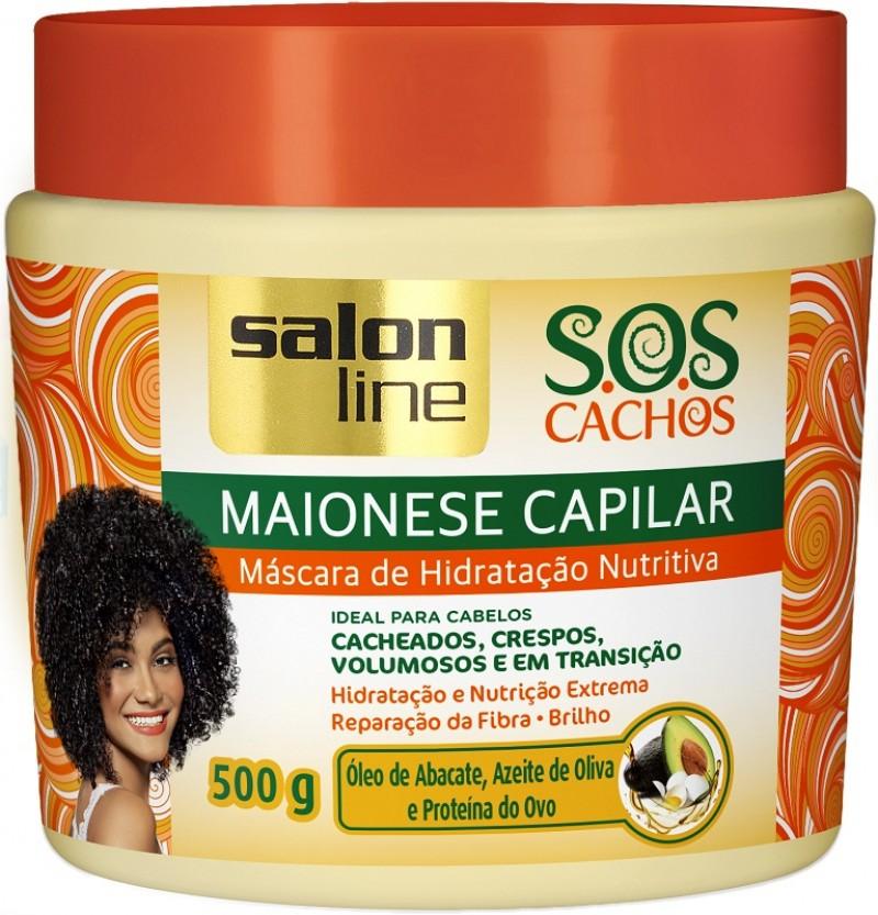 Salon Line lança a Maionese Capilar SOS Cachos