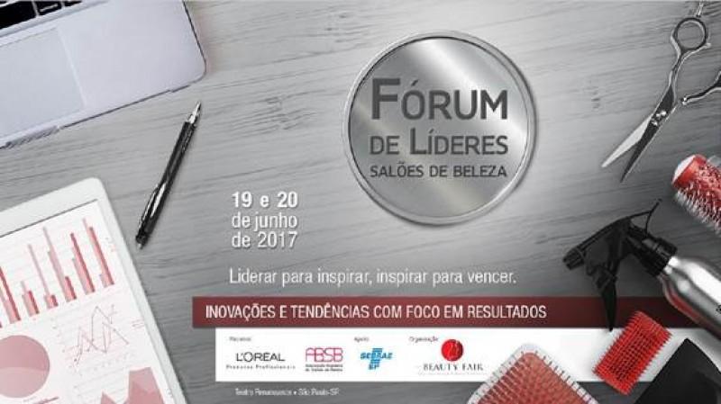 Segunda edição do Fórum de Líderes de Salões de Beleza, dias 19 e 20 de junho