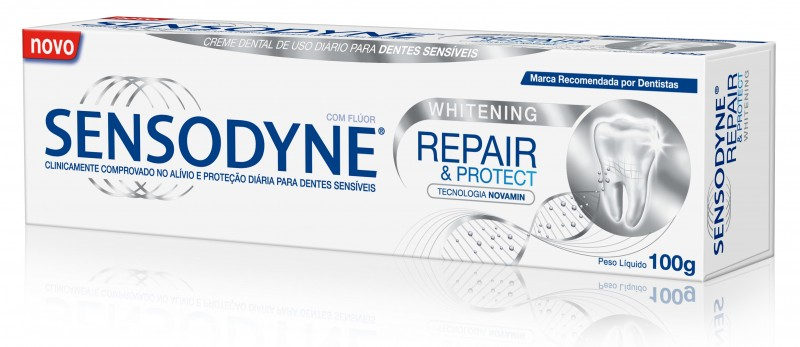 Sensodyne lan�a Repair & Protect Whitening
