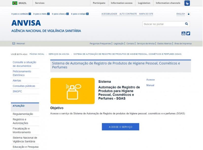 Sistema eletrônico da ANVISA apresenta problemas e prejudica empresas do mercado de cosméticos