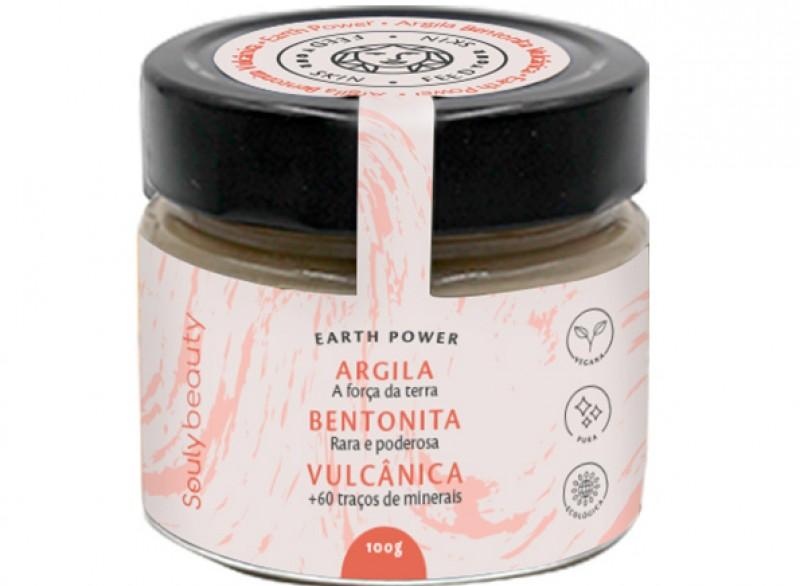 Souly Beauty traz ao Brasil, com exclusividade, a Argila Bentonita Vulcânica