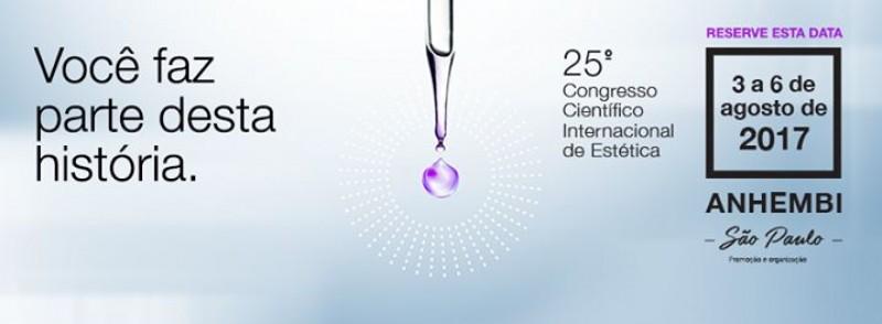 Temário Científico realiza 25° Congresso Científico Internacional de Estética