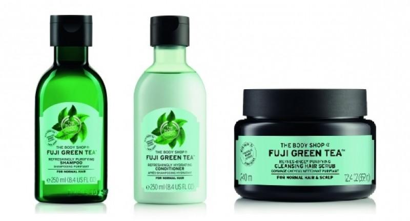 The Body Shop apresenta linha capilar à base e chá verde