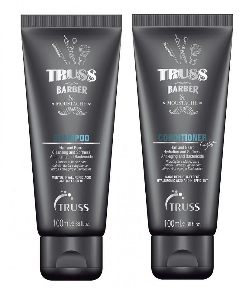 TRUSS lança linha masculina para barba, cabelo e bigode