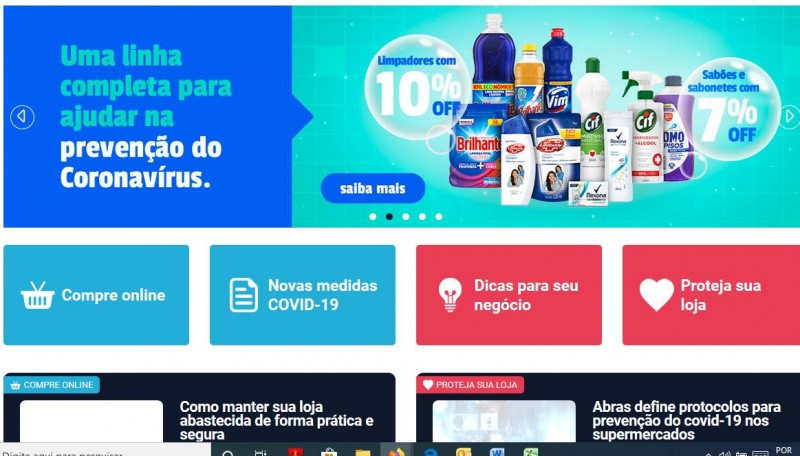 Unilever apresenta portal Sua Loja Aberta para o pequeno varejista