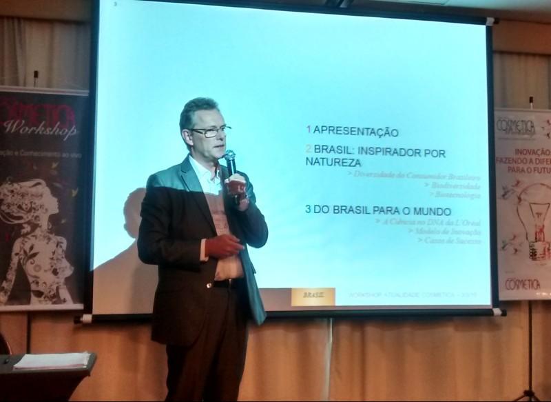 Workshop Atualidade Cosm�tica traz a Inova��o para o centro da pauta