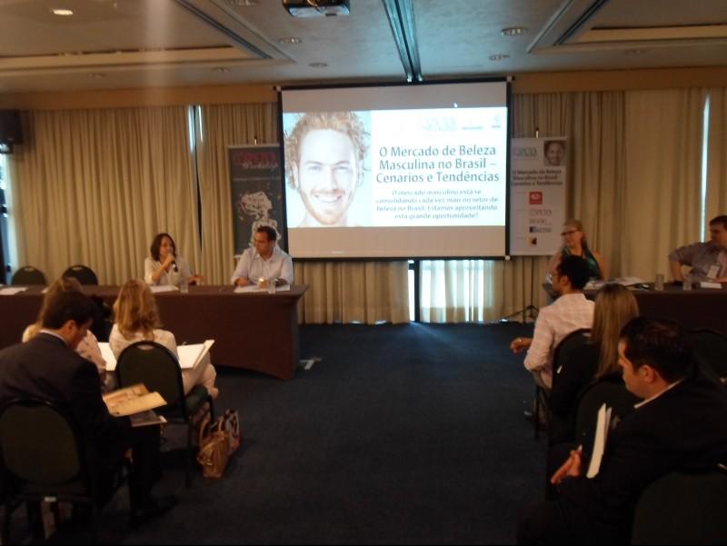 Workshop da Cusman discute mercado de beleza masculina com suas tend�ncias e desafios