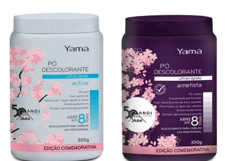 Yamá lança embalagens limitadas para comemorar os 50 anos
