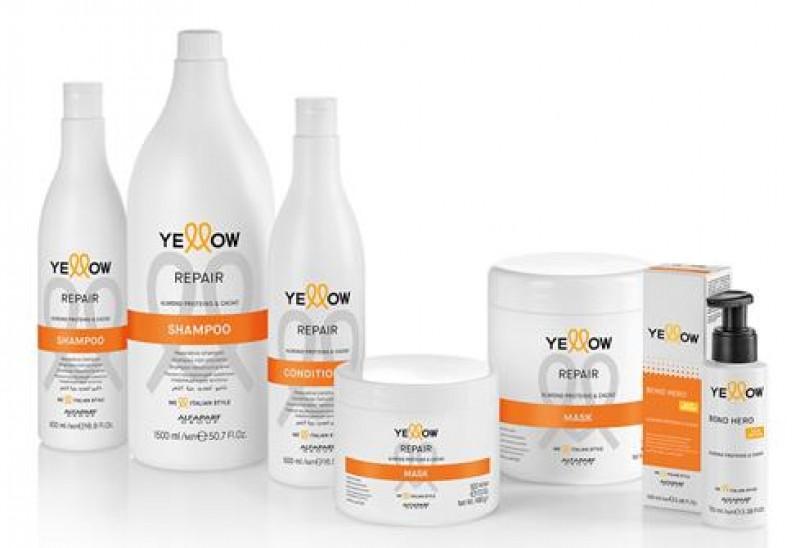 Yellow Professional lança linha de reparação profunda
