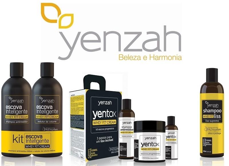 Yenzah lança nova linha de transformação capilar