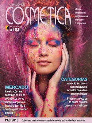 Atualidade Cosm�tica N� 152 - Nov/Dez 2016